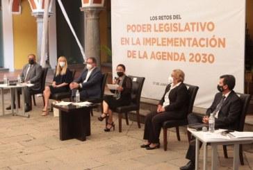 Realiza Congreso del Estado conversatorio sobre Los Retos del Poder Legislativo en la Implementación de la Agenda 2030